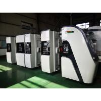 China high speed flexo printer slotter die cutter fold glue packaging ffg line machine on sale