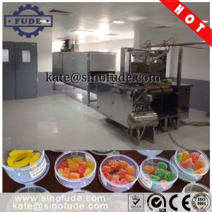 China CLM80Q Small Gummy Jelly Candy Production Line on sale
