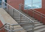 Easy to installation stainless steel round bar stair railing systems