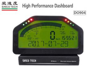 China ABS Material Race Car Dashboard Digital LCD Display DO904 6.5 Inch Full Sensor Kit on sale
