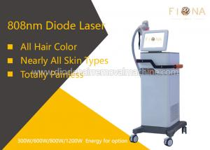 China Lightweight Diode Laser Hair Removal Machine 10 X 20mm Spot Size For All Hair Color on sale