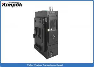 China HD 1080P COFDM Wireless Transmitter NLOS 5W Video Audio Live Broadcast AV Sender Encrypted on sale