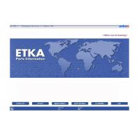 ETKA Electronic Catalogue V7.5 Automotive Scan Tool Software For Audi VW Seat Skoda