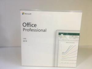China Retail Packaging Original Microsoft Office 2019 Professional on sale