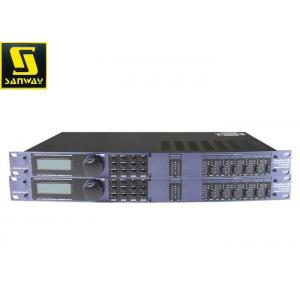 China PC GUI Control Digital Sound Processor , Dsp Sound Processor For Subwoofer Speaker on sale