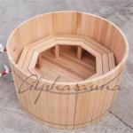 100% Red cedar Wooden Hot Tubs / traditional sauna kit , No electricity