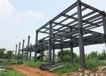 Brick Wall Prefabricated Light Steel Structure Building For Office Easy Build