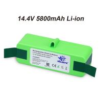 14.4V 5800mAh Li-iON iRobot Vacuum Cleaner replacement Battery for Roomba 500 600 700 800 Series 510 531 532 620 650 770