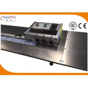 China LED Light Bar Depanelizer Depaneling Unlimited Length , V-cut PCB Electrostatic Separator on sale
