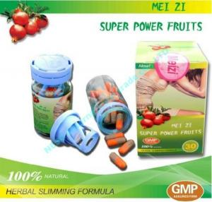 China Meizi Super Power Fruits Botanical Natural Slimming Capsule For Fat Burning on sale