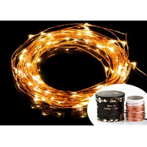 China Decorative Garden Led Solar String Lights Outdoor 33ft Warm White Super Bright on sale