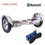 セリウムFCC RoHs 2の車輪のスマートなバランスの電気スクーターのブルートゥースのHip Hop色