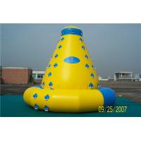 Customized Size Inflatable Water Climbing Wall , Inflatable Water Sports Toys