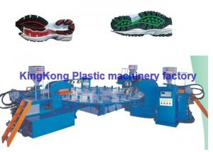 China Automatic Sport Sole Shoe Injection Molding Machine High Performance on sale