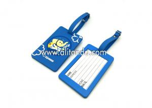 China Custom bulk luggage tag cheap luggage tag supply for promotional gifts on sale