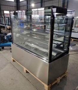 China Restaurant Equipment Refrigerated Display Cases , Bakery Display Refrigerator on sale