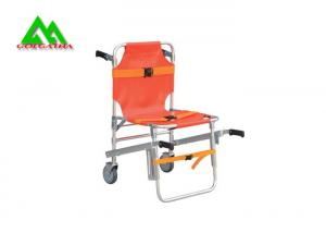 China Folding Emergency Medical Stair Stretcher , Hospital Ambulance Chair Stretcher on sale