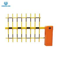 China 3 Fence Arm Smart Parking Barrier Gate Electric Traffic With Brushless DC Motor on sale