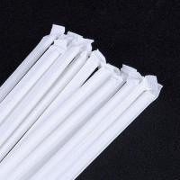 White Kraft Paper Wrapped Paper Straws Convinent Wedding Paper Straws