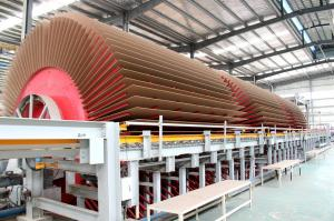 China Particle Board Manufacturing Equipment Big Capacity Hot Press Type on sale