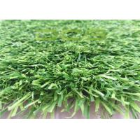 Green Artificial Grass Landscaping / 35mm Pile Height Soft DFG fake Turf