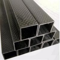 180mm 3k high strength carbon fiber square tube,custom Carbon Fiber Tube/Tubing, Colored Carbon Fiber Tubes
