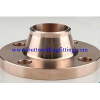 China 300lbs Copper Nickle ( Cuni ) Flanges C71500 Welding Neck Flange on sale