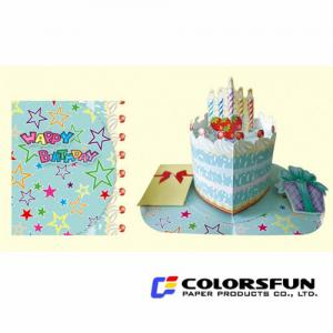 China Happy Birthday Greeting Cards, Note Cards on sale