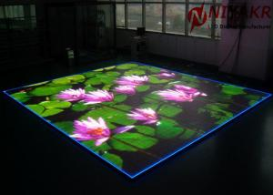 Quality P3.91 Programmable LED Floor Display Seamless Stitching For Disco Club DJ Events for sale