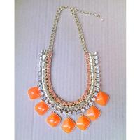 2013 fashion original design colorful gem jewelry,Chunky Statement Jewelry