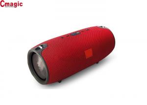 China leather fabric cloth Bluetooth speakers with FM radio/best loud Bluetooth speaker on sale