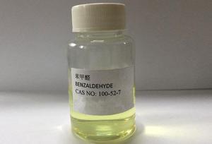 China Essence Pharmaceutical Intermediates Benzaldehyde Transparent Liquid on sale