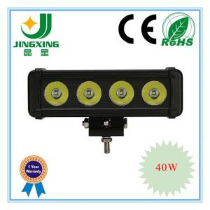 China 24v off road cree 40w led light bar on sale