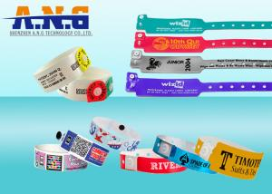 China Conferences healthcare industry UHF RFID TAGS Wristband Disposable on sale