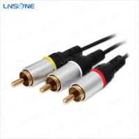 Hight quality audio/video male to male RCA cables