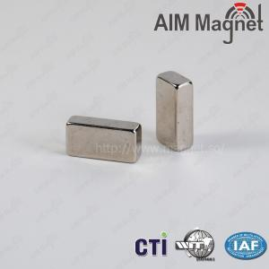 "China cheap  Neodymium block magnet 1/2""x1/4""x1/16""thick on sale"
