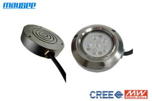 China 316 Stainless Steel Marine Underwater LED Lights For Pontoon Boats 6W / 18W on sale