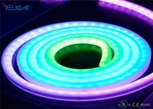 China Dimmable Waterproof RGB Flexible Multi-Color Led Light Strip With UL / CE / RoHS Approved on sale