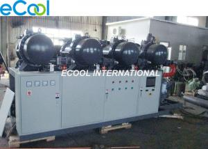 China Low Noise PLC Refrigeration Screw Compressor Unit 840HP High Temperature cold storage on sale
