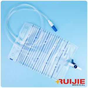 China urine bag PVC material pediatric 2000ml Low Price Luxury Urine Drainage Bag on sale