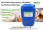 Food Grade Liquid Alpha Amylase Enzyme 80,000 U / ml For Alcohol and Brewing