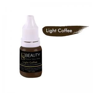 China Dark Apricot Coffee Non Toxic Tattoo Ink Organic For Permanent Makeup on sale