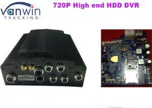 China AHD 720P HD DVR móvel, dvr do carro de 3G GPS 4ch com gravador de vídeo audio on sale
