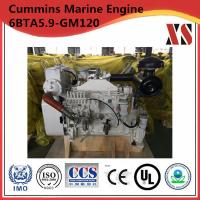China Cummins Marine Engine 6 Cylinder Diesel Engine 6BTA5.9-GM120 on sale