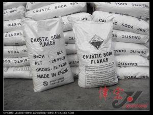 China caustic soda flakes for water treatment on sale