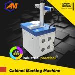 Impresora laser de la superficie de metal de la impresora del número del precio de fábrica