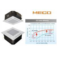 Four way cassette fan coil unit 4TR capacity 1600CFM, brushless DC motor water fan coil unit
