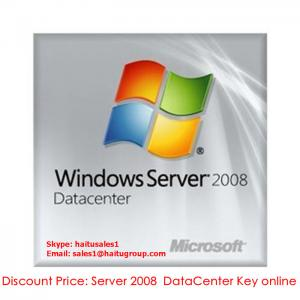 China Windows Server 2008 Datacente Product Key online on sale