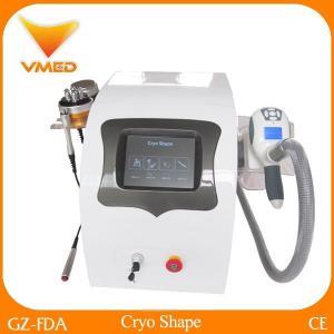 China Portable Cryolipolysis fat freezing machine with 36-40khz cavitation RF weight loss Machine on sale