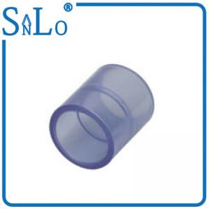 China Coupling Clear Drain Threaded Pvc Pipe Fittings For Garden Irrigation Plastic on sale